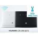 СТАЦИОНАРНЫЙ РОУТЕР LTE 4G 3G HUAWEI B315 - СМАРТФОН. БЕЛЫЙ / ЧЕРНЫЙ