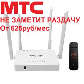ZBT WE1626 + Huawei e3372 для МТС и торрентов